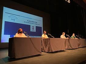 primer encuentro Plan Director en el Teatro Moderno de Chiclana
