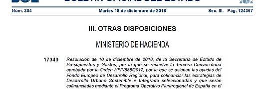 Boletín Oficial del Estado de 18 de diciembre